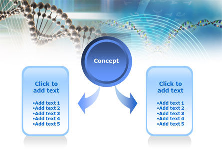 Genome Research PowerPoint Template, Slide 4, 00966, Medical — PoweredTemplate.com