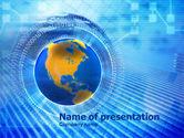 Global: 파워포인트 템플릿 - 정보 세계 #00967