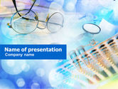 Medical: Lab Test Tubes PowerPoint Template #00969