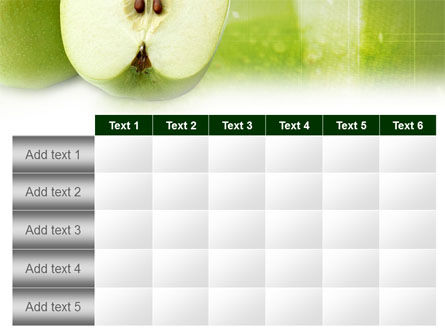 Ripe Apple PowerPoint Template Slide 15