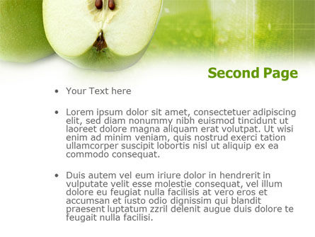 Ripe Apple PowerPoint Template Slide 2