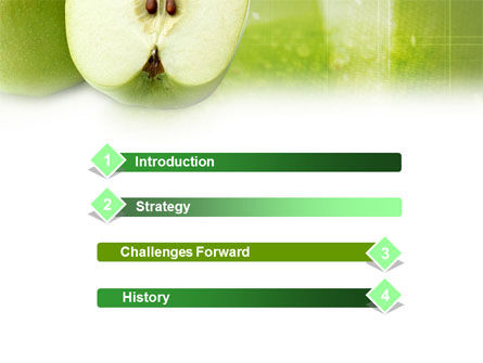 Ripe Apple PowerPoint Template Slide 3