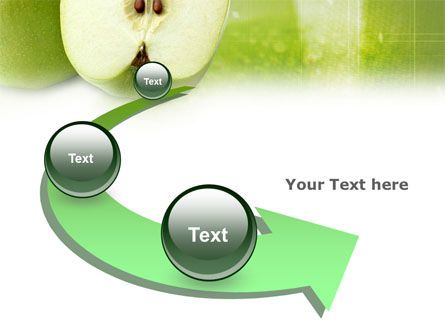Ripe Apple PowerPoint Template Slide 6