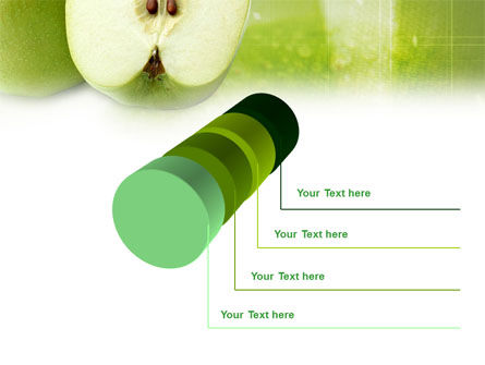Ripe Apple PowerPoint Template Slide 7