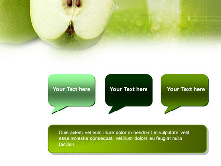 Ripe Apple PowerPoint Template Slide 9