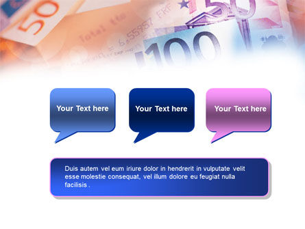 Euro Currency PowerPoint Template Slide 9