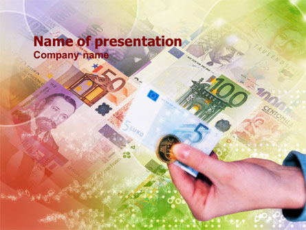 Currency PowerPoint Template, 00978, Financial/Accounting — PoweredTemplate.com