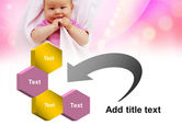 Wrapped Baby PowerPoint Template#11