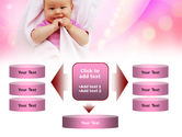 Wrapped Baby PowerPoint Template#13