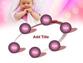 Wrapped Baby PowerPoint Template#14