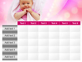 Wrapped Baby PowerPoint Template#15