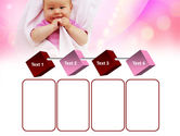 Wrapped Baby PowerPoint Template#18