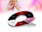 Wrapped Baby PowerPoint Template#19