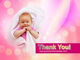Wrapped Baby PowerPoint Template#20