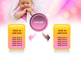 Wrapped Baby PowerPoint Template#4