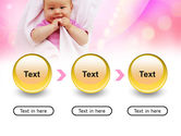 Wrapped Baby PowerPoint Template#5