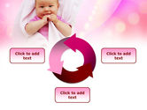 Wrapped Baby PowerPoint Template#9