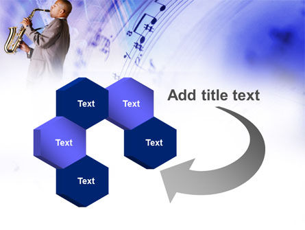 Saxophone PowerPoint Template Slide 11