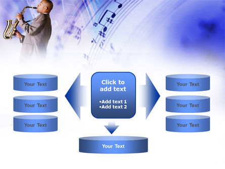 Saxophone PowerPoint Template Slide 13