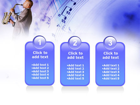 Saxophone PowerPoint Template Slide 16
