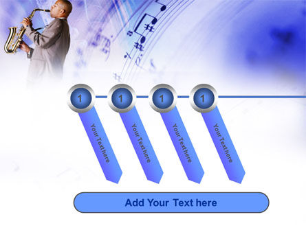 Saxophone PowerPoint Template Slide 18