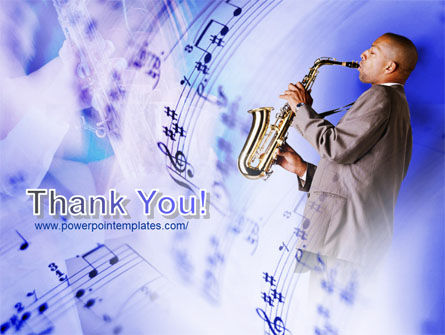 Saxophone PowerPoint Template Slide 20