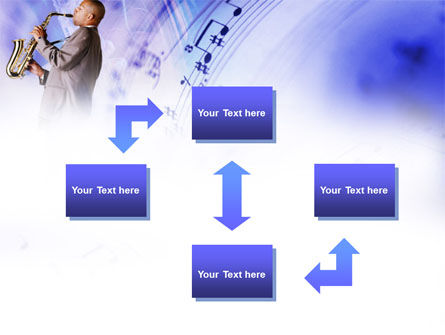 Saxophone PowerPoint Template Slide 4