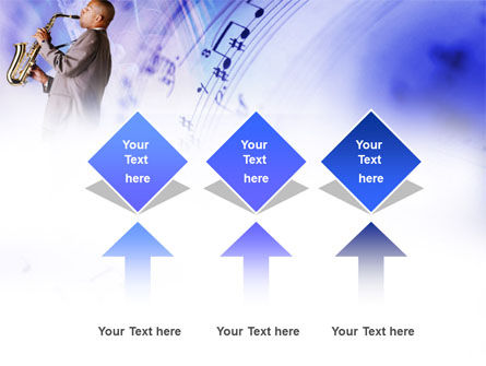 Saxophone PowerPoint Template Slide 5