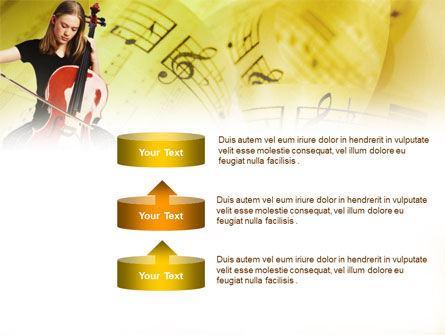 Cello PowerPoint Template Slide 10