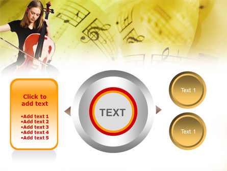 Cello PowerPoint Template Slide 12
