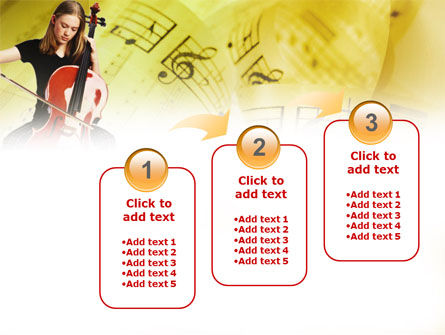Cello PowerPoint Template Slide 14