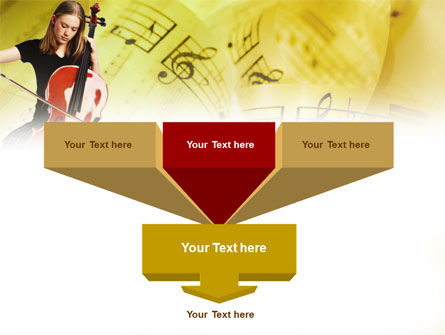 Cello PowerPoint Template Slide 3