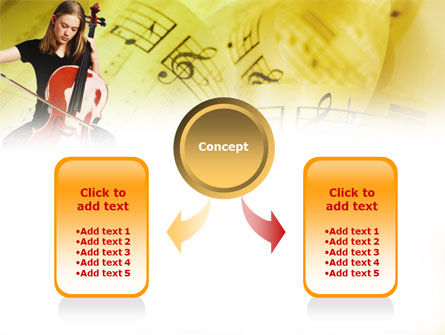 Cello PowerPoint Template Slide 4