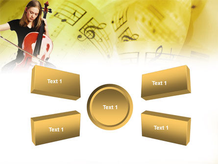 Cello PowerPoint Template Slide 6