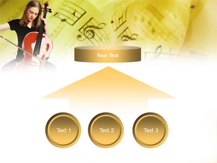 Cello PowerPoint Template Slide 8