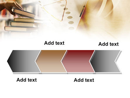 Book Piles PowerPoint Template Slide 16