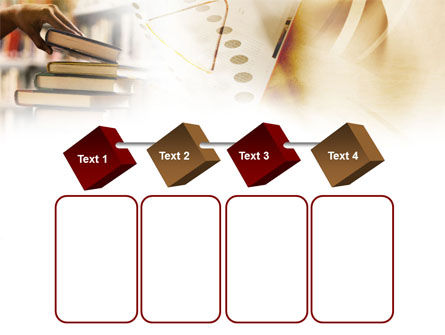Book Piles PowerPoint Template Slide 18