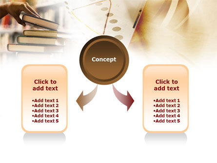 Book Piles PowerPoint Template Slide 4