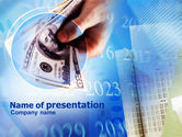 Financial/Accounting: Take Dollars In Cash PowerPoint Template #00989