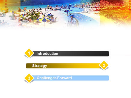 Resort Beach PowerPoint Template Slide 3