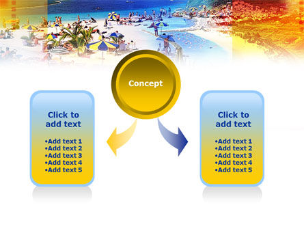 Resort Beach PowerPoint Template Slide 4