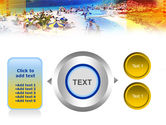 Resort Beach PowerPoint Template#12