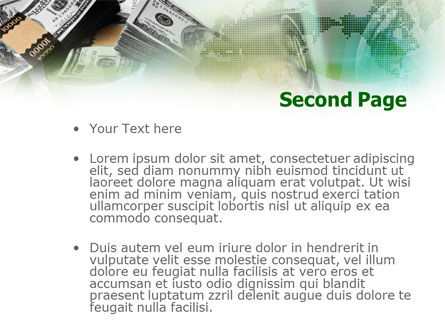 Dollar Packs PowerPoint Template Slide 2