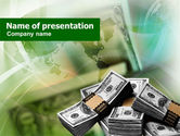 Financial/Accounting: Dollar Packs PowerPoint Template #00993
