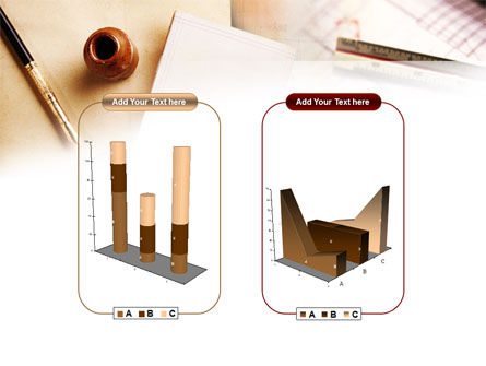 Free Business Vintage Stationery PowerPoint Template Slide 13