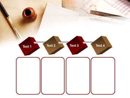 Free Business Vintage Stationery PowerPoint Template Slide 18
