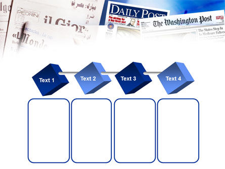 Business Newspapers PowerPoint Template Slide 18