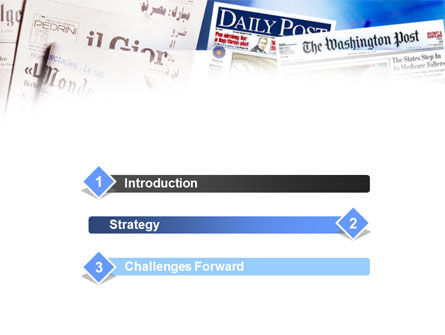 Business Newspapers PowerPoint Template Slide 3