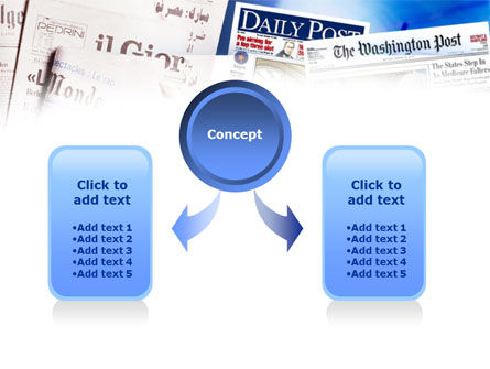 Business Newspapers PowerPoint Template Slide 4
