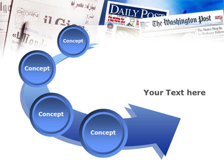 Business Newspapers PowerPoint Template Slide 6
